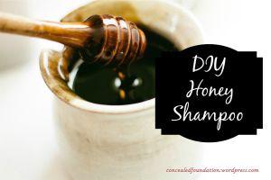diy honey shampoo tutorial